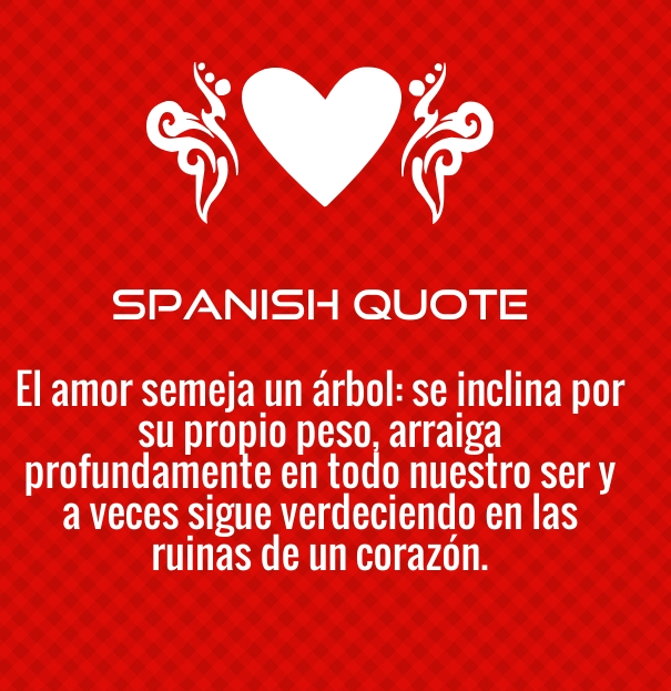 Spanish Love Quotes and Poems for Him / Her - Quotes Square