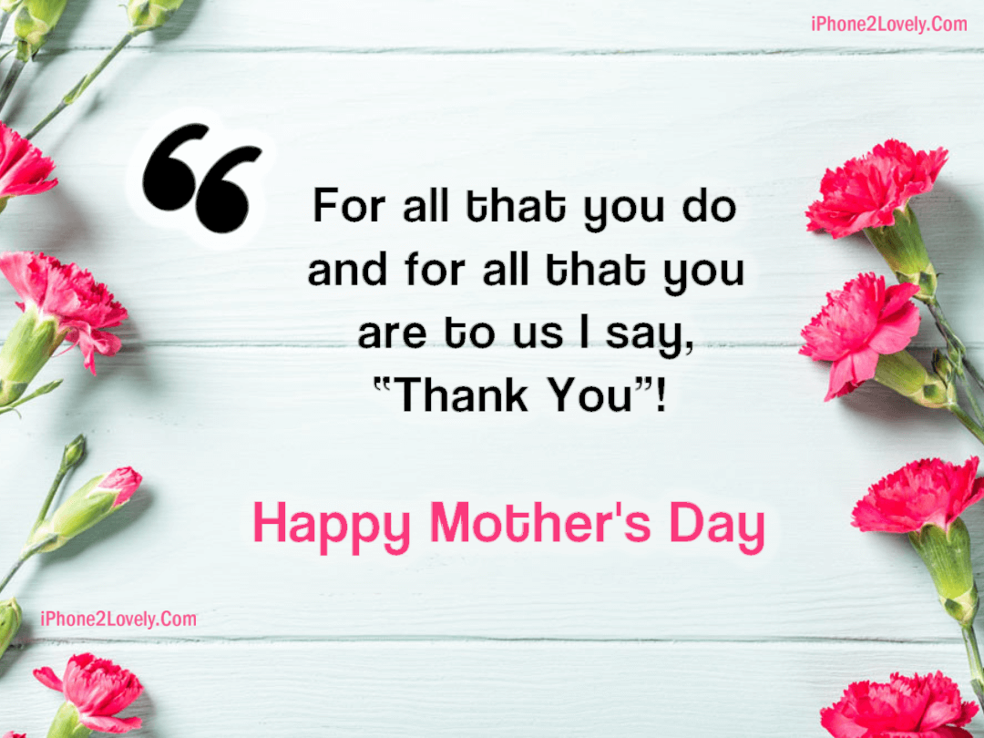 Happy Mothers Day Quotes From Son In Law - Quotes Square