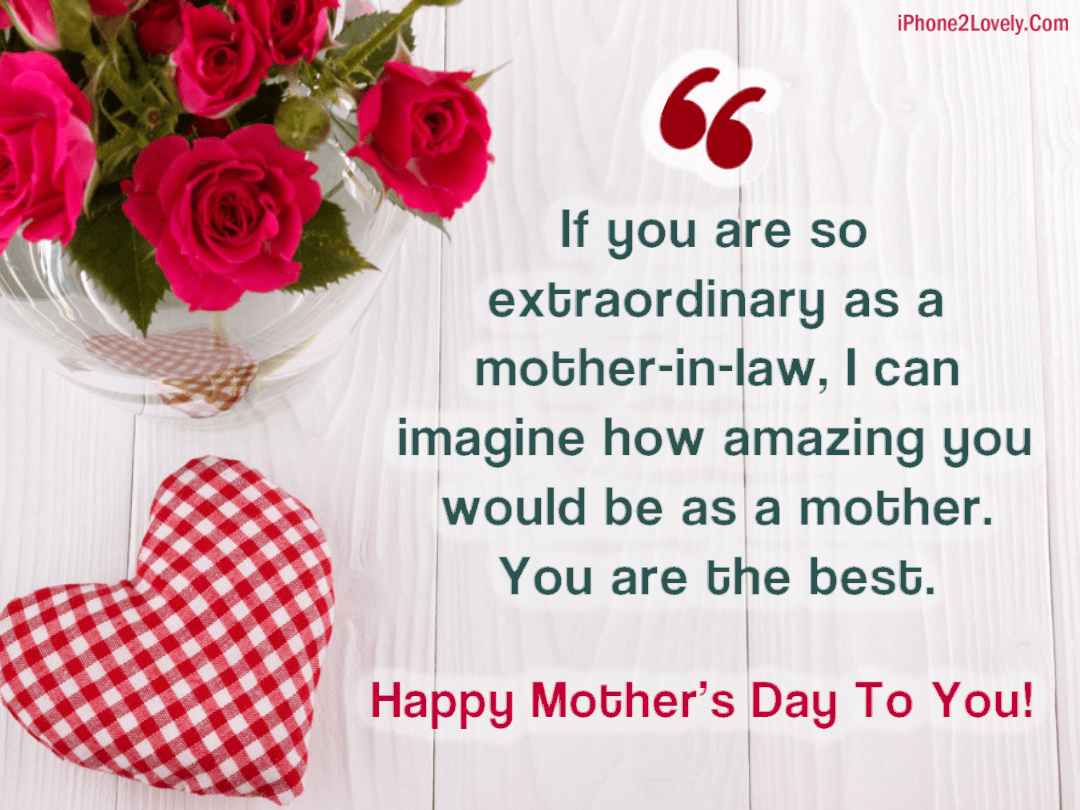 Cute Mothers Day Quotes Saying From Son In Law Quotes Square